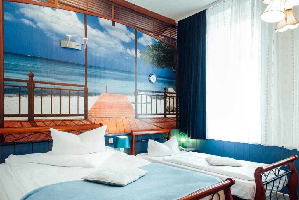 Hotel Village Hamburg::Vierbettzimmer